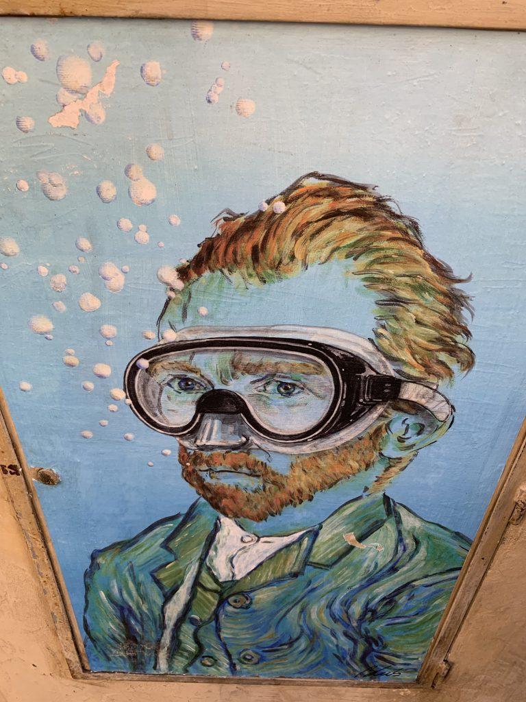 Van Gogh underwater