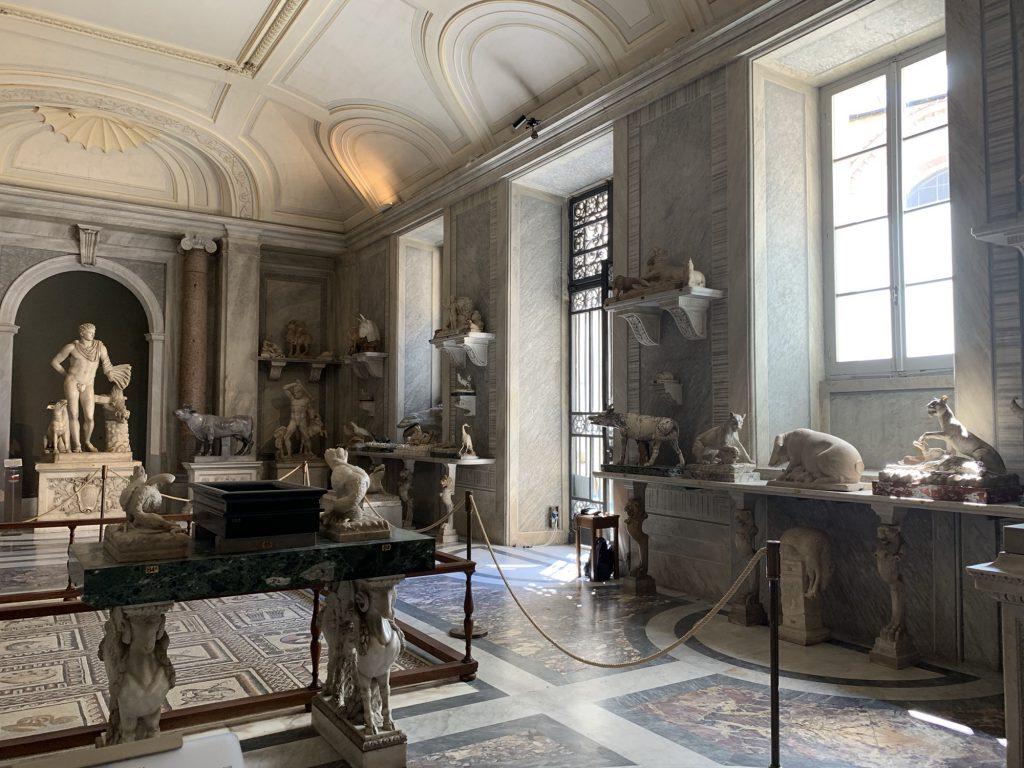 Animal statues Vatican