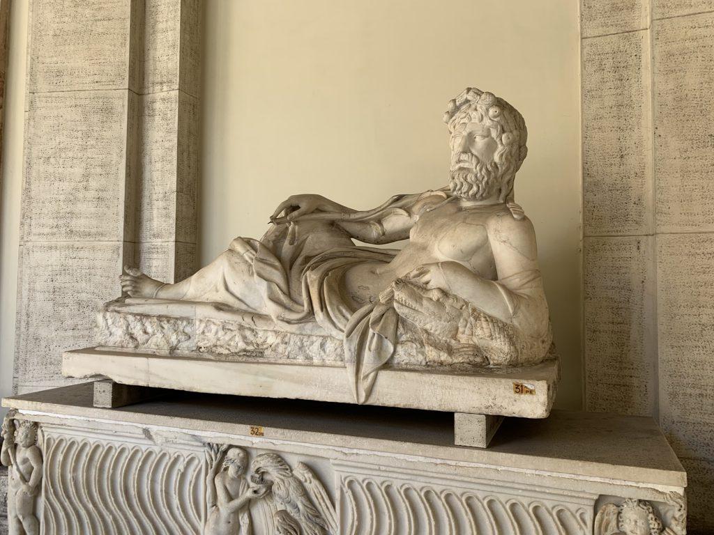 Statue at Vatican