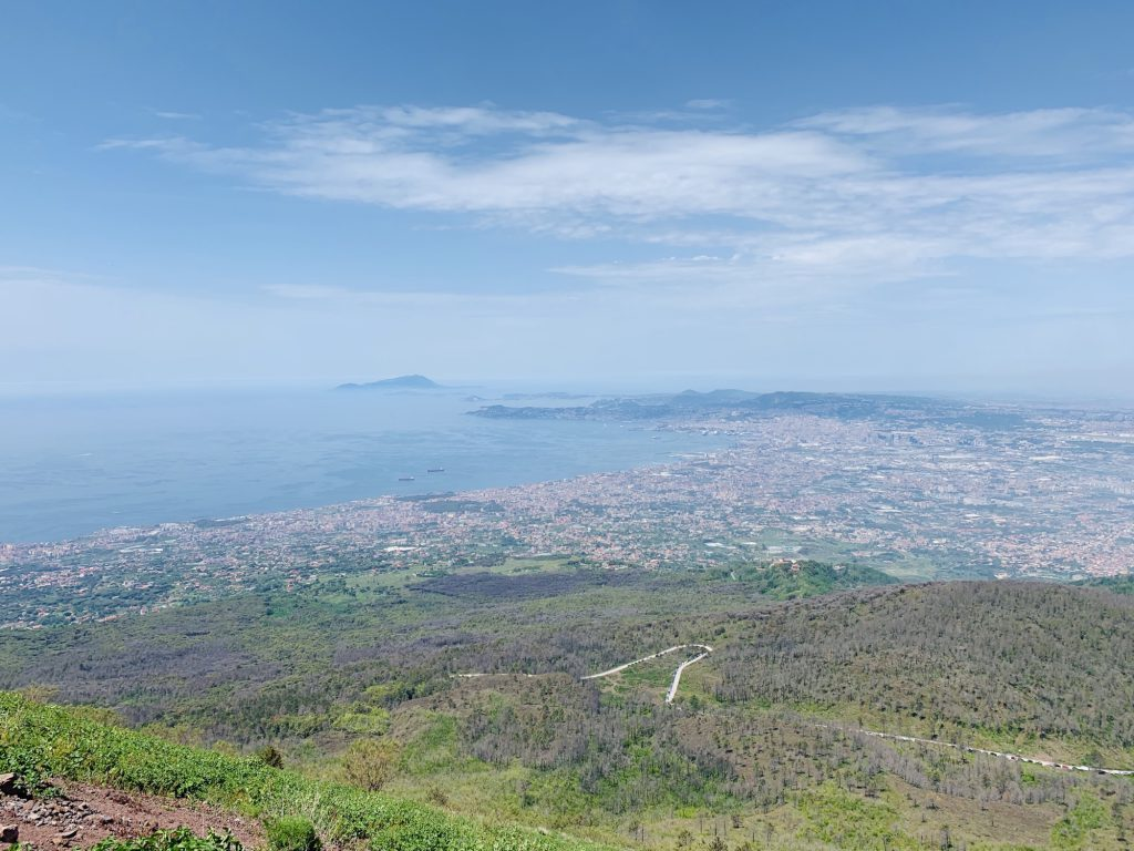 View from Mount Vesuvius