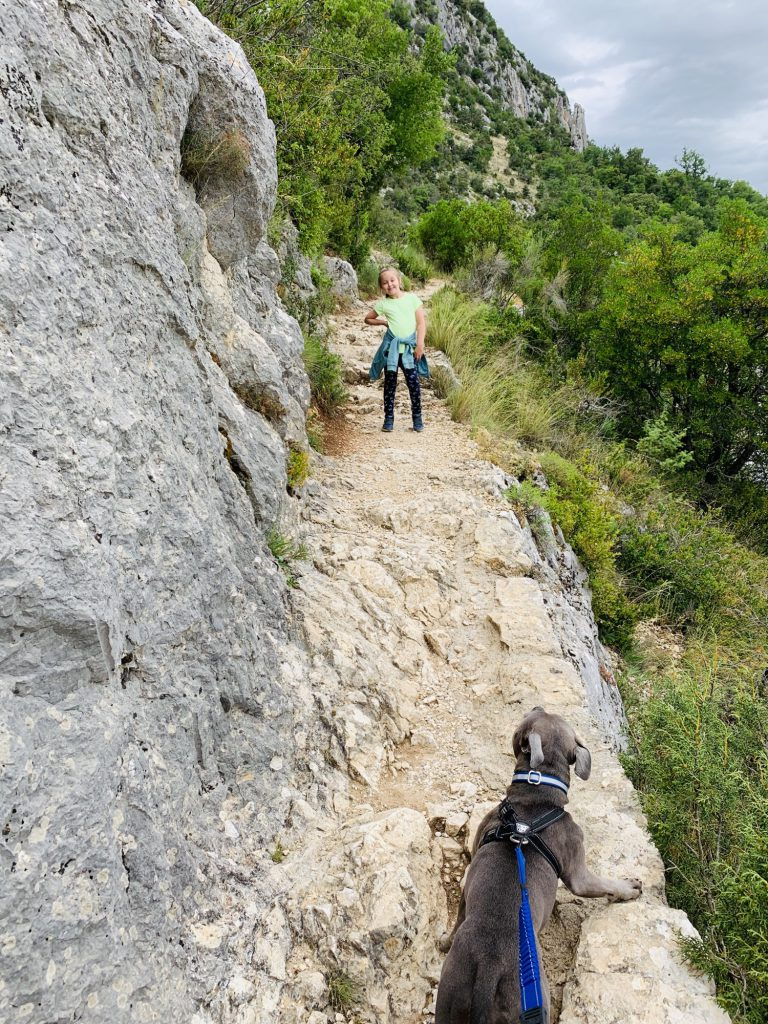 climbing Verdon Gorge