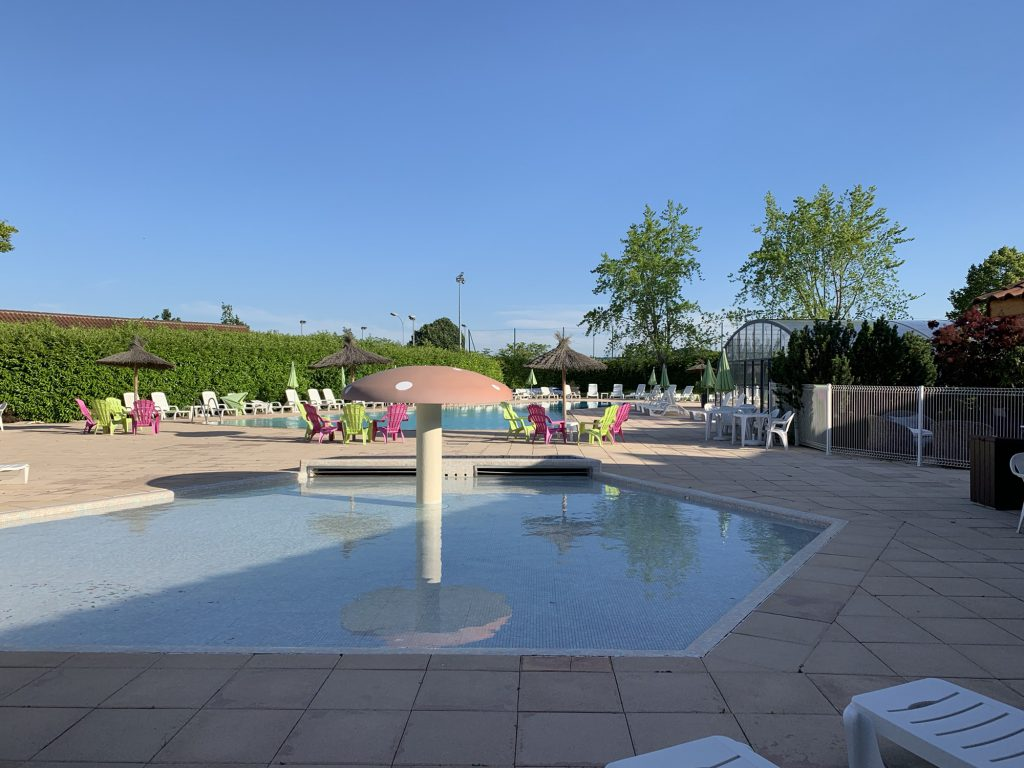 Swimming pools at Le Village de Meunier