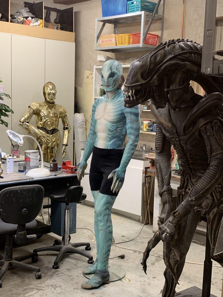 3CPO, Alien being restored