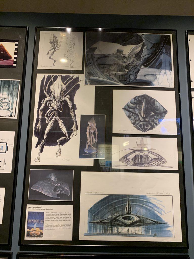 Alien drawings