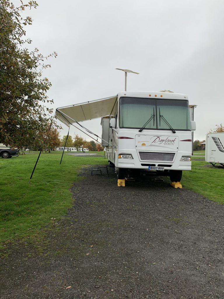 RV at Lady Heyes Campsite