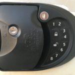 RV Lock class C/A Keyless Entry Door Handle